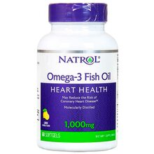 Natrol Omega 3 Fish Oil 1000 mg 60 капсул