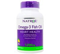 Natrol Omega 3 Fish Oil 1200 mg 60 капсул