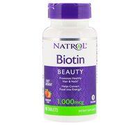 Natrol Biotin 1000 mcg Fast Dissolve 90 таблеток
