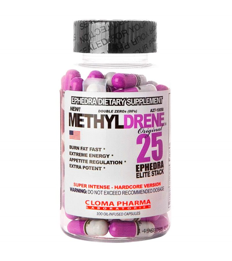 metilyldren 25 efecte secundare arzător de grăsime